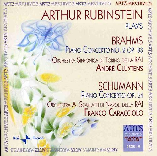 Arthur Rubinstein Plays Brahms & Schumann