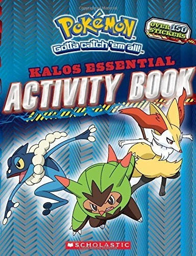 - Kalos Essential Activity Book (Pokémon)