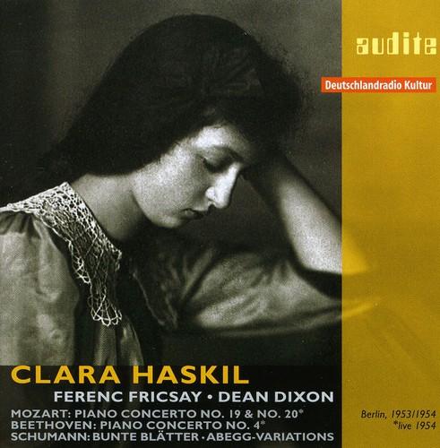 Clara Haskil Plays Mozart Beethoven & Schumann