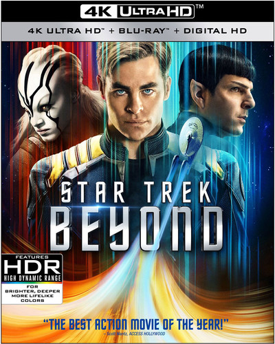 Star Trek Beyond [4K Ultra HD Blu-ray/Blu-ray]