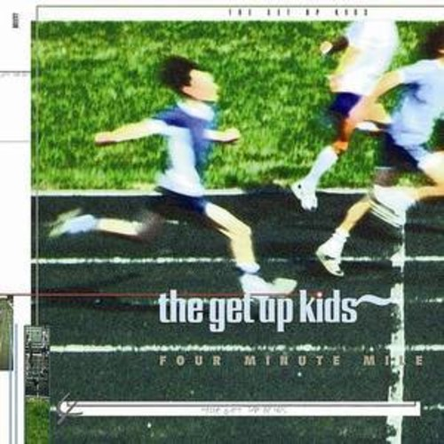The Get Up Kids - Four Minute Mile [Limited Edition White Vinyl With Blue Splatter]