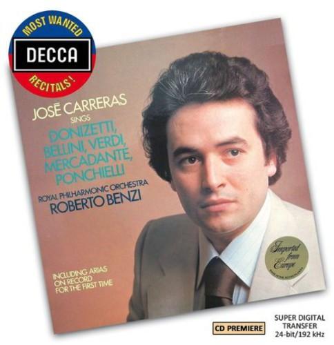 Most Wnated Recitals: Jose Carreras Sings