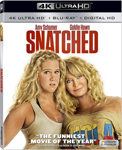 Snatched [4K Ultra HD Blu-ray/Blu-ray] [DTS]
