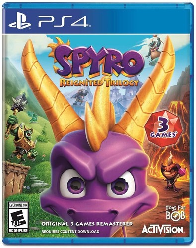 Ps4 Spyro Reignited Trilogy - Spyro Reignited Trilogy for PlayStation 4