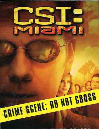 CSI: Miami: The Complete Third Season
