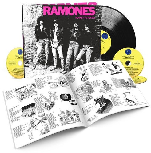The Ramones Rocket To Russia With Lp Deluxe Edition