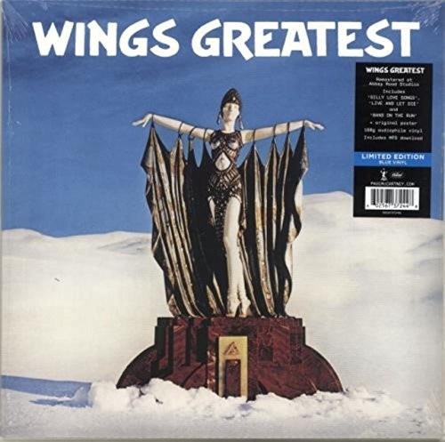 Wings - Greatest [Indie Exclusive Limited Edition Blue LP]