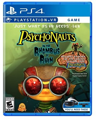 Psychonauts in the Rhombus of Ruin: VR for PlayStation 4