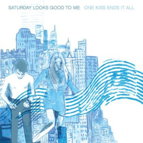 Saturday Looks Good To Me - One Kiss Ends It All [Download Included] [Colored Vinyl]