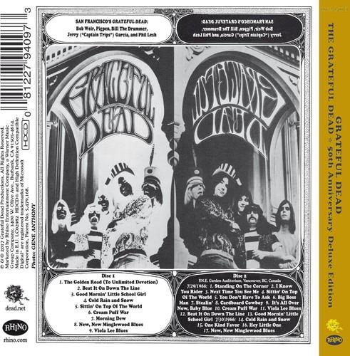 Grateful Dead - The Grateful Dead: 50th Anniversary Deluxe Edition [2CD]