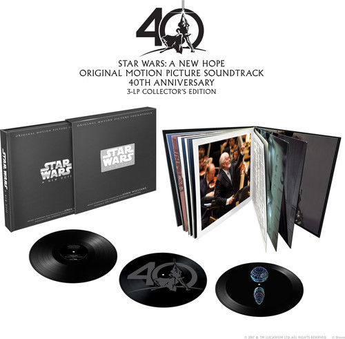 Star Wars - Star Wars: A New Hope [Limited Edition Vinyl Box Set Soundtrack Death Star Hologram]