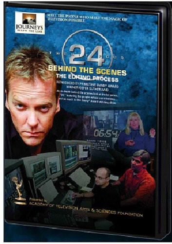 Journeys Below the Line: 24 the Editing Process