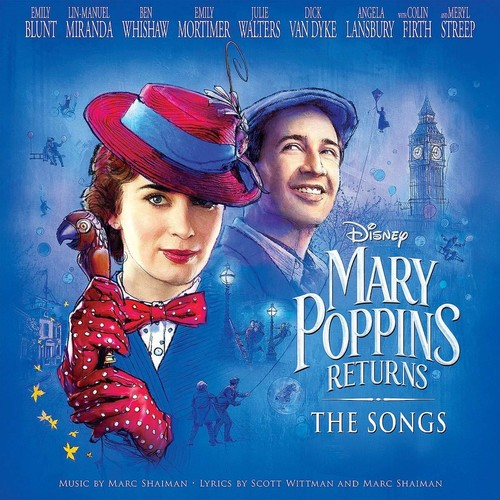 Mary Poppins [Movie] - Mary Poppins Returns: The Songs [LP Soundtrack]
