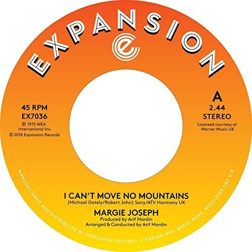 I Can't Move No Mountains /  Come On Back To Me Lover [Import]