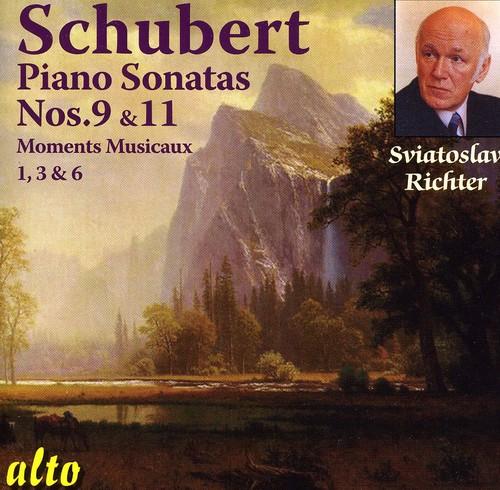Piano Sonatas 9 & 11: Moments Musicaux