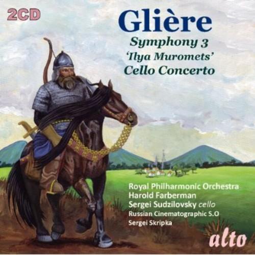 Symphony No 3 ( Ilya Muromets ) /  Cello Concerto