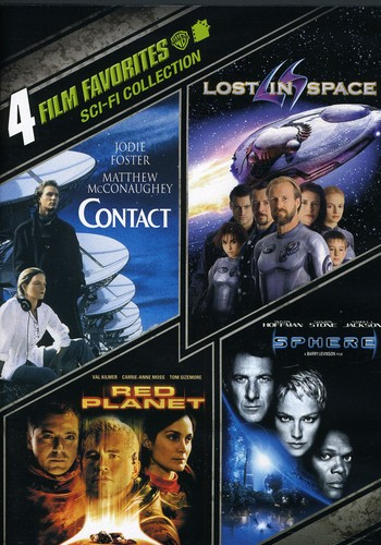 4 Film Favorites: Sci-Fi Collection