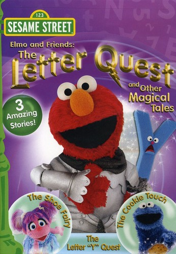 Sesame Street: Elmo and Friends: The Letter Quest and Other Magical Tales
