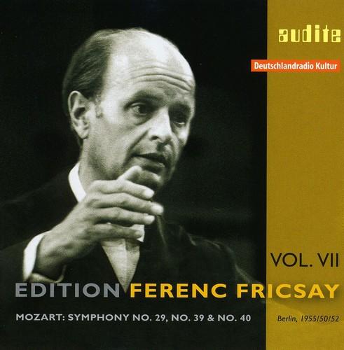 Edition Ferenc Fricsay 7: Sym No. 29 39 & 40