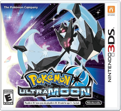 3Ds Pokemon Ultra Moon - Pokemon Ultra Moon