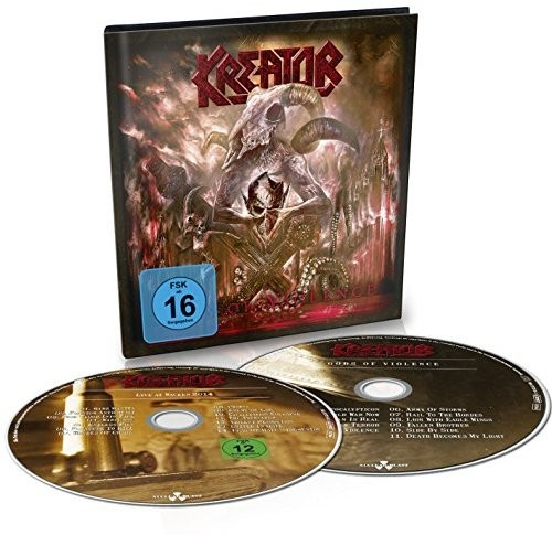 Kreator - Gods Of Violence [Import Deluxe CD+DVD]