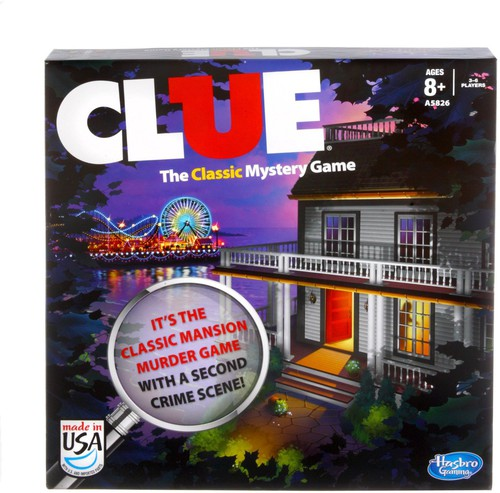 Clue - Hasbro Gamming - Clue