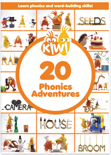 Kiwi: 20 Phonics Adventures