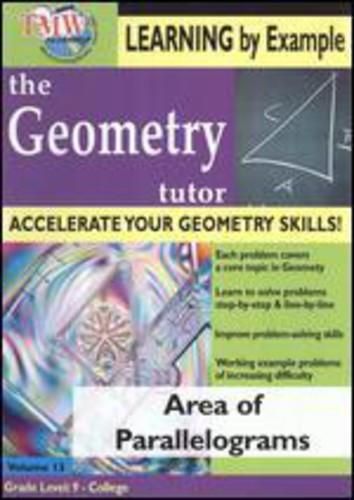 Geometry Tutor: Area of Parallelograms