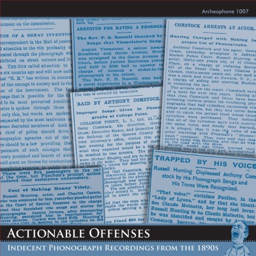 Actionable Offenses /  Various