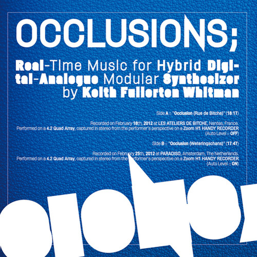 Occlusions: Real-Time Music For Hybrid Digital-Analogue...