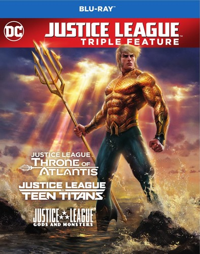 Justice League - Justice League Vs Teen Titans / Gods & Monsters