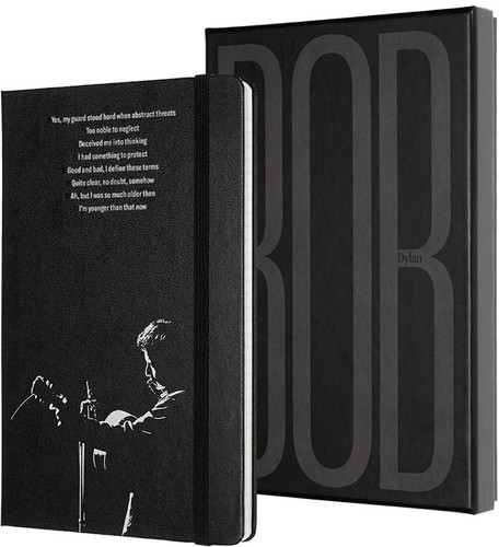 - Moleskine Limited Edition Notebook Bob Dylan Collector's Edition, Large, Ruled, Hard Cover (5 x 8.25)