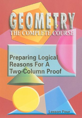 Preparing Logical Reasons for a Two-Column Proof