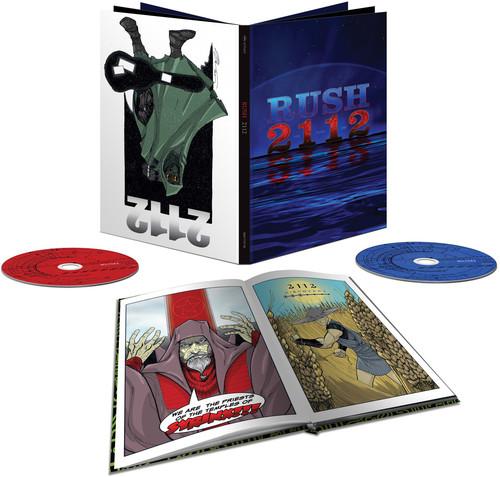 2112 [CD/ BR] [Comic Book] [Super Deluxe] [Box Set]