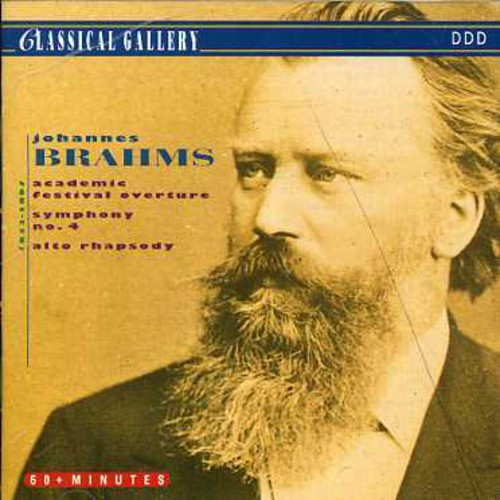 Brahms: Sym No 4 /  Academic Festival Overture