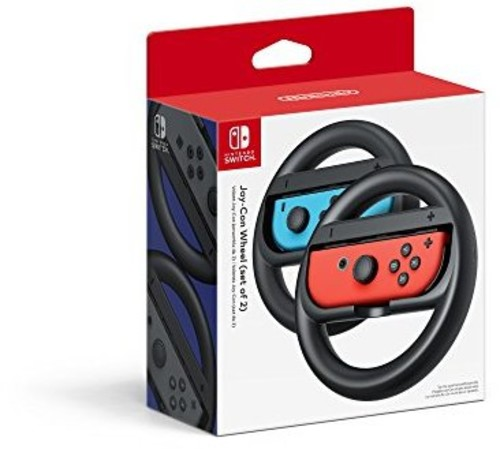 Swi Joy-Con Wheel: 2 Pack - Nintendo Joy-Con Wheel: 2 Pack - Black for Nintendo Switch