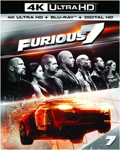 Furious 7 [4K Ultra HD Blu-ray/Blu-ray]