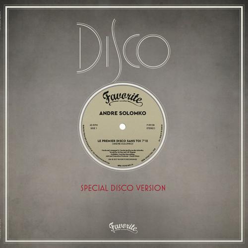Le Premier Disco Sans Toi