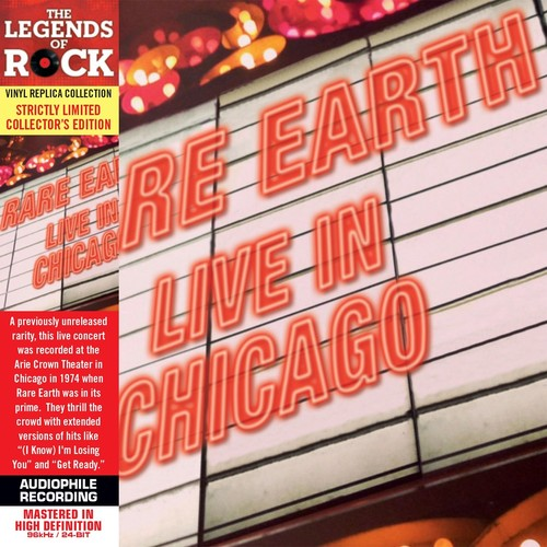 Rare Earth - Live In Chicago (Coll) [Limited Edition] [Remastered] (Mlps)
