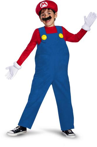 Super Mario - Nintendo: Super Mario: Mario (Size Child Small, 4-6)
