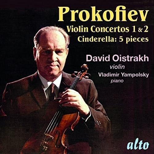 Prokofiev: Violin Concertos No 1 & 2 - Cinderalla