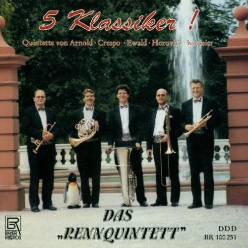 5 Classics for Brass Quintet: Crespo, Arnold, Etc