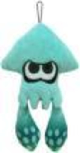 "- Little Buddy Splatoon Inkling Squid 9"" Plush - Turquoise"