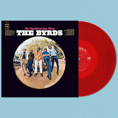 Byrds - Mr.Tambourine Man [Colored Vinyl] (Red)