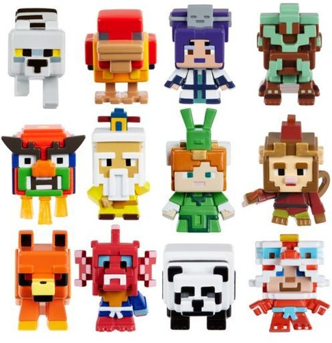Minecraft - Mattel Collectible - Minecraft Mini Fig Multi Theme Assortment