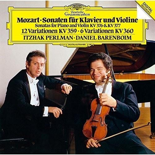 Mozart: Violin Sonatas K 376 & 377