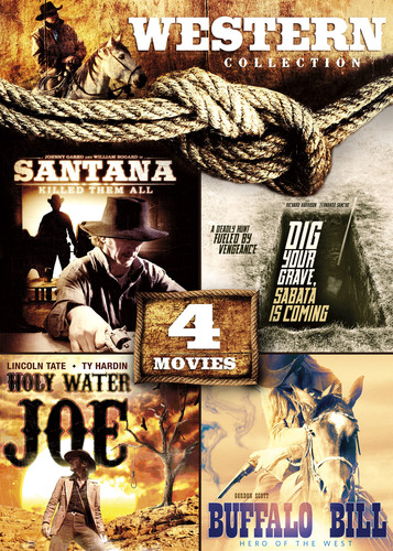 4-Movie Western Collection