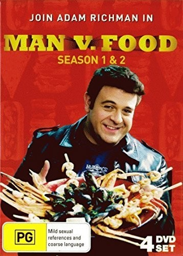 Man V Food: Season 1 & 2 [Import]