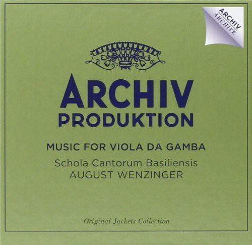 Music for Viola Da Gamba