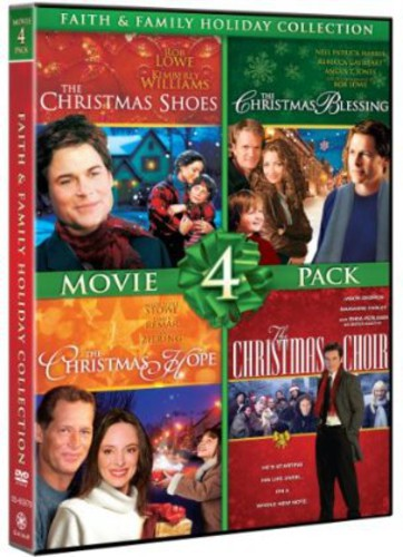 Faith and Family Holiday Collection: Movie 4 Pack